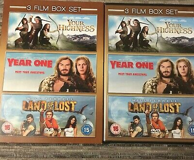 Your Highness / Year One / Land of the Lost 3 Picture Disc DVD Boxed Set