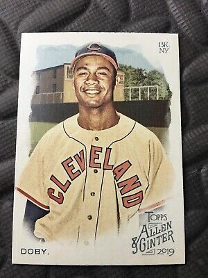 2019 Topps Allen Ginter SP #359 Larry Doby Cleveland Indians Baseball Card Mint