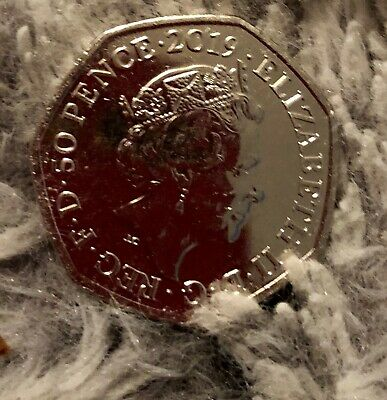 **very rare 50p coin** Paddington Bear at St Paul's Cathedral 2019