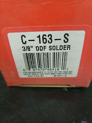 Catch-all C-163-s 3/8 ODF SOLDER