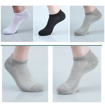 151020 Pairs Men Invisible Low Cut No Show Footlet Socks Polyester No-Slip