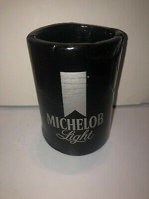 Rare Vintage 70s 80s MICHELOB LIGHT BEER Koozie Can Cooler Holder Ad Promo VTG