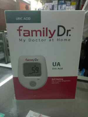 FAMILY DR Tool Uric Acid check monitoring system