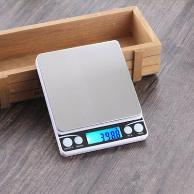Multifunctional LCD Electronic Digital Scale 0.1G/0.01G Jewelry Weight Scales A@