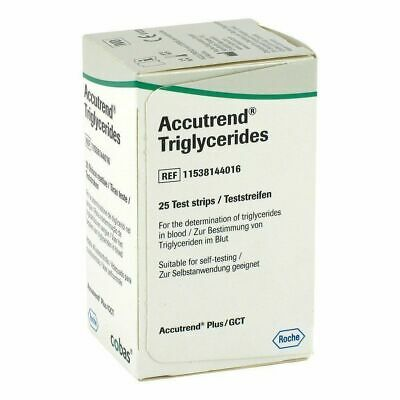 Accutrend Blood Triglyceride Test Strips Monitor Control
