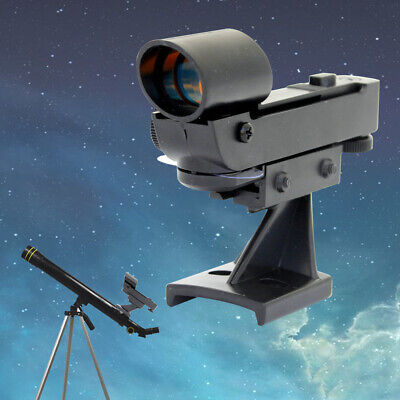 Red Dot Adjustable Height Astronomy Finderscope Aiming Telescope Use Lightweight