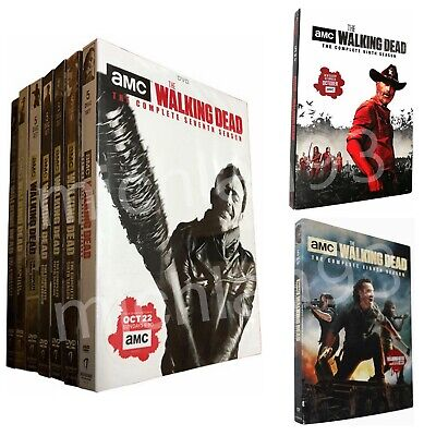 The Walking Dead Complete Series 1-9 Seasons Brand New Sealed DVD Set USA Seller