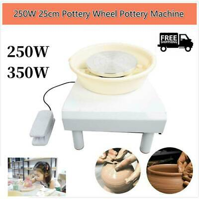 250W/350W Electric Pottery Wheel Machine For Student Amateur Work Ceramics NEW
