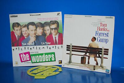 LaserDisc - especial Tom Hanks -The Wonders - Forrest Gump - 2 Peliculas