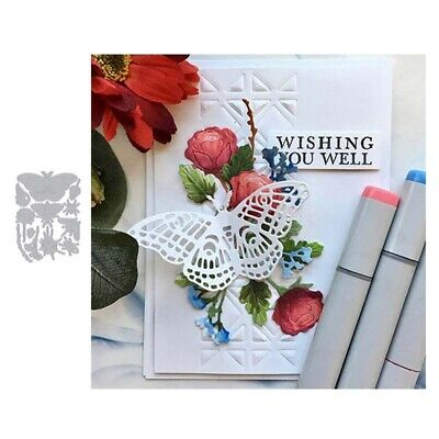 Butterfly Flower Frame Metal Cutting Dies Stencil Embossing Carbon Steel Useful