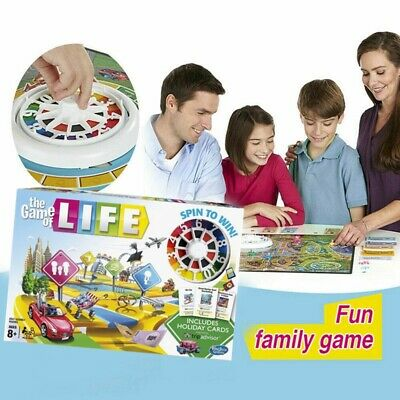 The Game of Life Board Game Party Holiday Fun Kids Family Interactive Game New