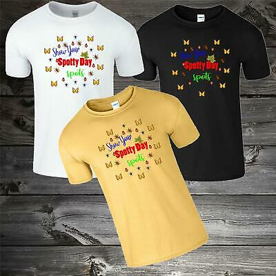 Spotty Day Kids T-Shirt Children Day Funny Cool Boys Gilrs School Tshirt