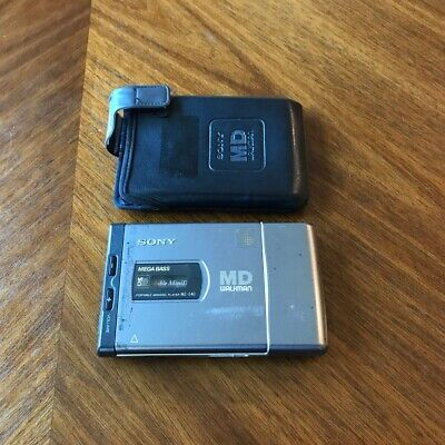 Sony MD Walkman Portable MiniDisk Player MZ-E40