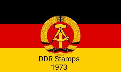 DDR / East Germany Stamps 1973 - High Res Scans - Pick From The Drop Down Menu