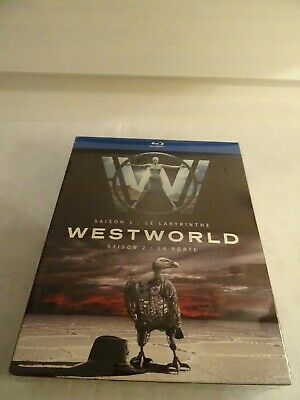 WESTWORLD Seasons 1 & 2 Bluray Complete Boxset FRENCH EDITION with English Audio