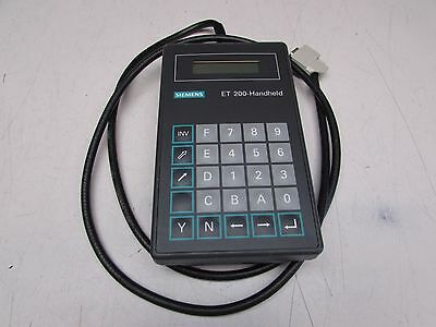 Siemens Et200-Handheld 6Es5782-2Mb11 , Xlnt Used Takeout, Make Offer !!