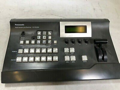Panasonic AV-HS300 Multi-Format Compact Live Video Switcher HD/SD