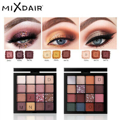 16 Colors Shimmer Waterproof Long Lasting&Eye Makeup Nude Shining Mineral Beauty