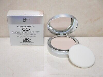 It Cosmetics Your Skin But Better Cc+ Airbrush Perfecting Powder Fair 0.33Oz Bxd