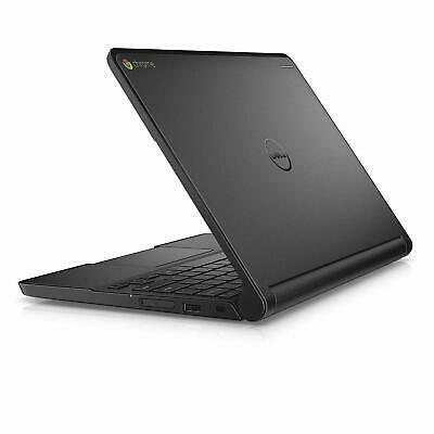"""Dell 11.6"""" Chromebook Touchscreen Laptop Tablet 4GB 16GB SSD - Bluetooth Webcam"""