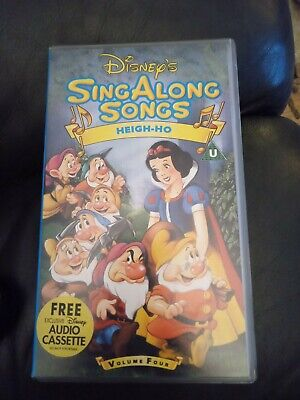 Sing Along Songs Heigh Ho Vhs 16 99 Picclick Uk