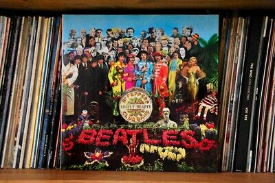 Beatles Sergeant Pepper's Lonely Hearts Club Band Album Cover Photograph Print