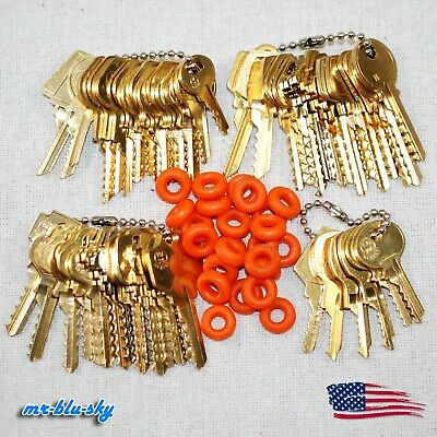 51 Depth Key Set (Residential, Padlock, Commercial, Mail) with Bump Rings