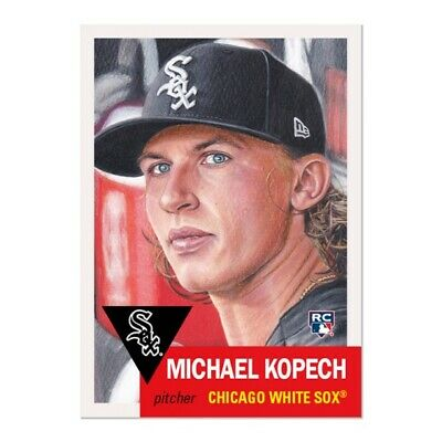 Topps Living Set #258 Michael Kopech Rookie Card CHICAGO WHITE SOX