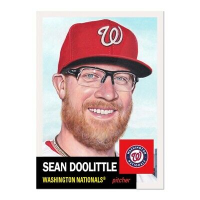 Topps Living Set #257 Sean Doolittle WASHINGTON NATIONALS