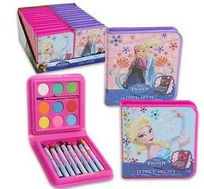 Broward Toys 20 Piece Art Sets with Coloring Book and Tote Bag Disney Frozen