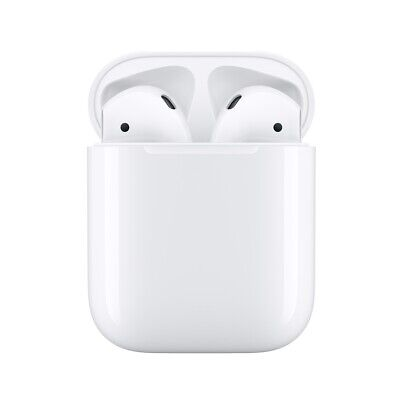 Brand New Apple AirPods 2nd generation with Charging Case - 2019 White - Sale