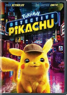 Pokemon: Detective Pikachu DVD New and Unopened! Free Shipping!