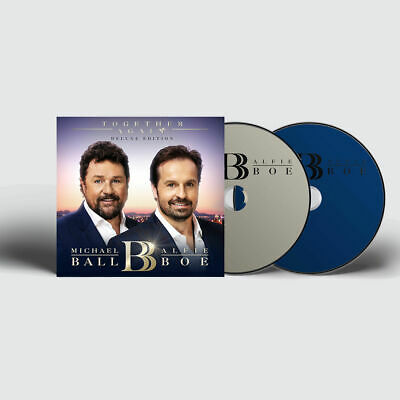 Together Again by Michael Ball & Alfie Boe CD+DVD Deluxe Edition