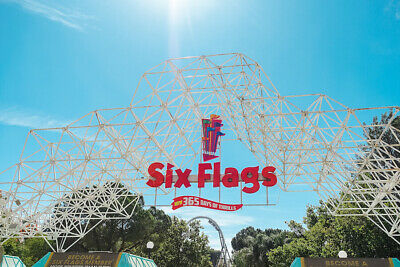 Six Flags Ticket good for Multiple Park Locations