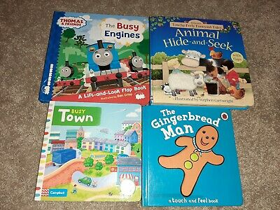 Bundle Of Toddler Books Touch And Feel/ Lift The Flap