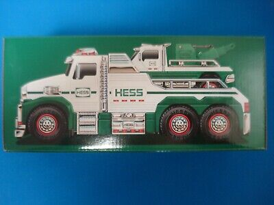 2019 HESS Rescue Team Tow Trucks Sealed in Unopened Box - NEW