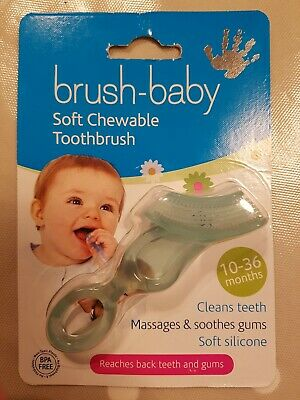 Brush-Baby Soft Chewable Toothbrush