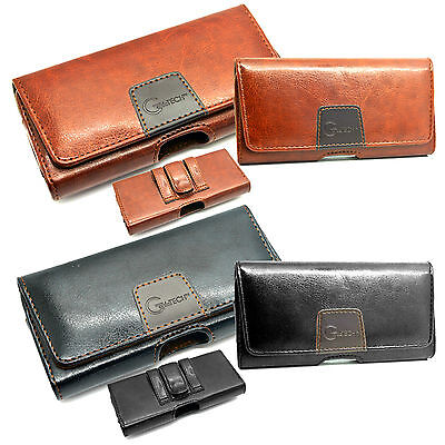 Belt Pouch Clip Loop Holster Leather Case Cover Holder For All Phone Models