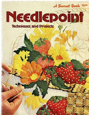 Vintage Needlepoint Techniques and Projects book