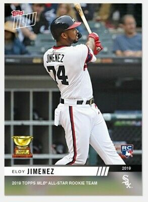 Eloy Jimenez - MLB TOPPS NOW 2019 Topps All-Star Rookie Cup Award Winner Chicago