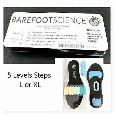 Barefoot Science Foot Full 5 Step Insole Arch Support FREE SHIPPING