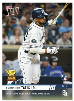 Fernando Tatis Jr. - RC-5 MLB TOPPS NOW 2019 Topps All-Star Rookie Cup Award Win