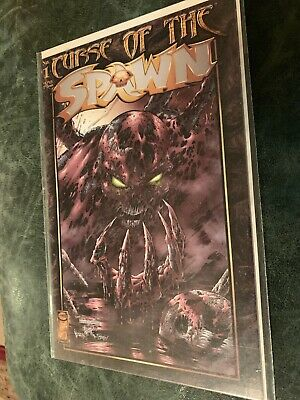 Curse Of The Spawn 1 Image Newsstand Variant Comic Mcelroy Turner 1996 Vf+ Rare!