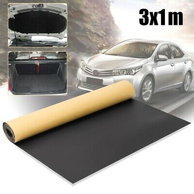 300x100CM Roll Cell Foam Car Sound Proofing Deadening Motorhome Insulation