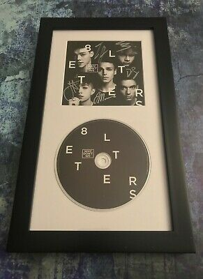 GFA 8 Letters Boy Band * WHY DON'T WE * Signed Framed CD Booklet W5 COA