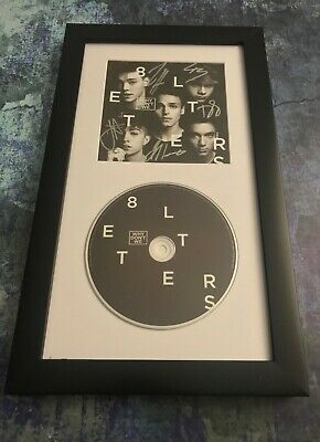 GFA 8 Letters Boy Band * WHY DON'T WE * Signed Framed CD Booklet W6 COA
