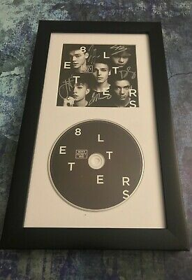 GFA 8 Letters Boy Band * WHY DON'T WE * Signed Framed CD Booklet W9 COA