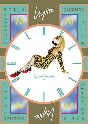 Kylie Minogue 2020 Collector's Edition Official A3 Deluxe Calendar by Danilo
