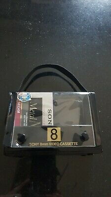 Sony 8mm video Cassettes And Case