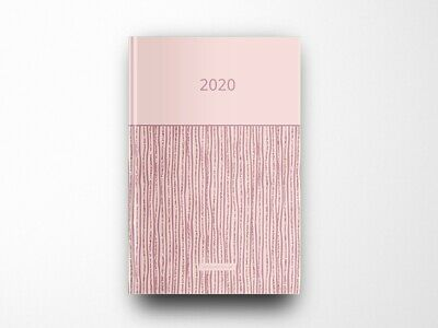 Wochenplaner, Planer 2020, Terminkalender, DIN A5, Hardcover, Lady's Style